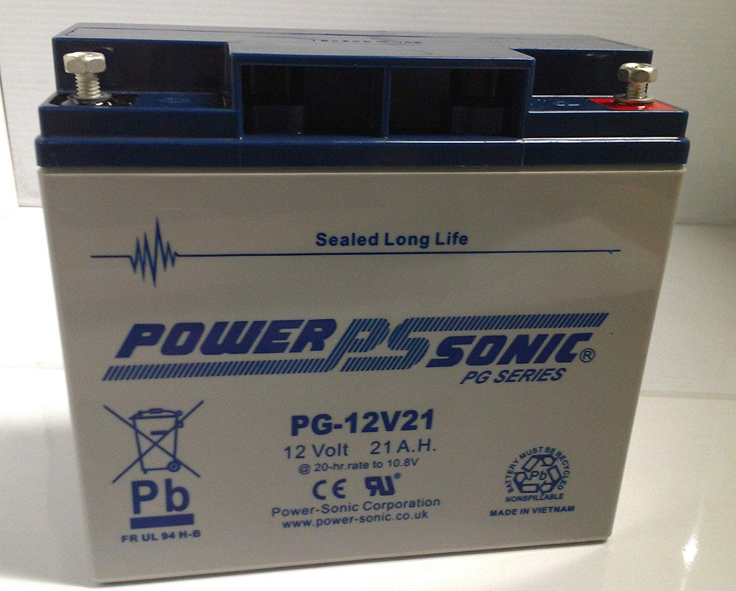 Power Sonic 12V 55AH AGM//GEL VRLA Battery Mobility Scooters